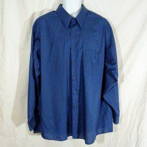 Men's Van Heusen Satin Stripe Wrinkle Free Shirt